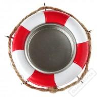 Svícen na čajovou svíčku záchranný kruh