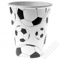 Papírové party kelímky Fotbal
