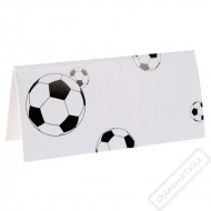 Papírové party jmenovky Fotbal