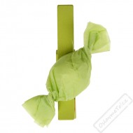 Dekorační kolíček s Bonbónem zelený
