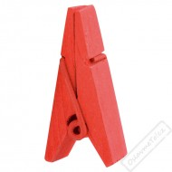 Dekorační pyramidový kolíček červený