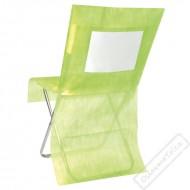 Univerzální potah na židli s kapsou zelený