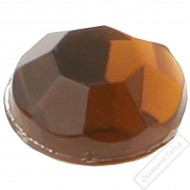 Dekorační nalepovací kamínky čokoládové