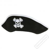 Pirátský klobouk plstěný