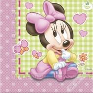 Papírové party ubrousky Minnie Baby