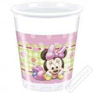 Plastové party kelímky Minnie Baby