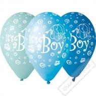 Latexové balónky s potiskem Baby Boy