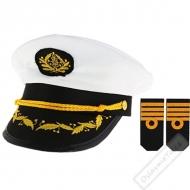 Námořnická čepice Kapitán