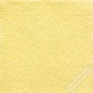 Luxusní papírové ubrousky Elegance žluté