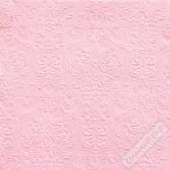 Luxusní papírové ubrousky Elegance růžové