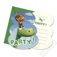 Pozvánky na oslavu Hodný Dinosaurus