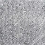 Luxusní papírové ubrousky Elegance stříbrné