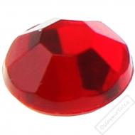 Dekorační nalepovací kamínky červené