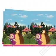 Plastový dětský ubrus Máša a Medvěd