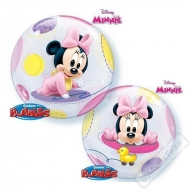 Nafukovací balón bublina Minnie Baby