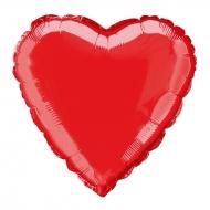 Nafukovací balónek fóliový Srdce červené