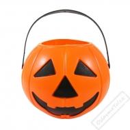 Dekorační kyblíček Halloween dýně