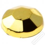 Dekorační nalepovací kamínky zlaté