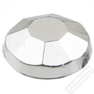 Dekorační nalepovací kamínky stříbrné