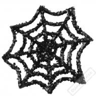Dekorační glitrové pavučinky