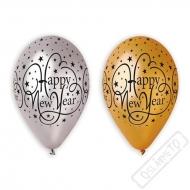 Latexové balónky s potiskem Happy New Year