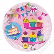 Papírové party talíře Sweet