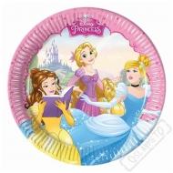 Papírové party talířky Princezny