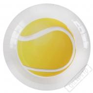 Papírové party talíře Tenis