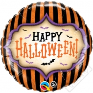 Nafukovací balónek fóliový Halloween Stripe 45cm
