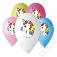 Latexové balónky s potiskem Unicorn