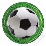 Papírové party talíře Soccer