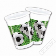 Plastové party kelímky Soccer