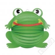 Závěsný papírový lampion Žabka