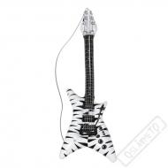 Nafukovací kytara Zebra