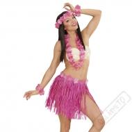Havajský kostým Aloha růžový