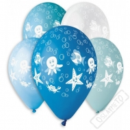 Latexový balónek s potiskem Podmořský svět