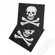 Papírové party ubrousky Pirát