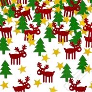 Dekorační konfety na stůl Vánoce