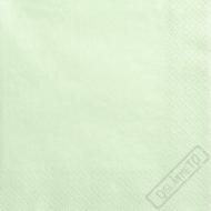 Jednobarevné papírové ubrousky mátové