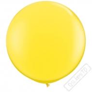 Nafukovací Jumbo balón žlutý 85cm