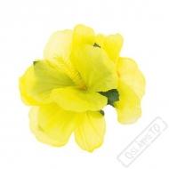 Havajská květina do vlasů Lemon