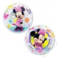 Nafukovací balón bublina Minnie Bow-tique 56cm
