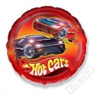 Nafukovací balónek fóliový Hot Cars 45cm