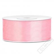 Saténová stuha šíře 2,5cm růžová