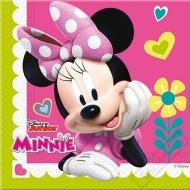 Papírové party ubrousky myška Minnie