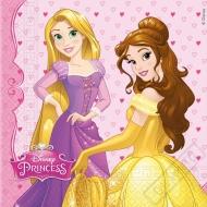 Papírové party ubrousky Princezny