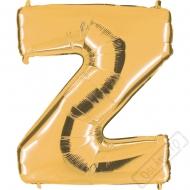 Nafukovací balón zlatý písmeno Z 101cm