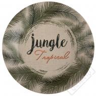 Papírové party talíře Tropical