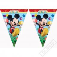 Party girlanda vlajky Mickey Mouse