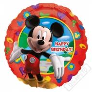 Nafukovací balónek fóliový Mickey Happy 45cm